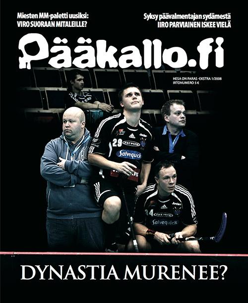 Pääkallo.fi 1/2008 –kansi